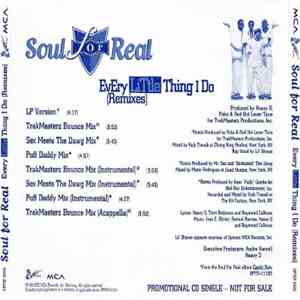 Soul For Real - Every Little Thing I Do (Remixes)